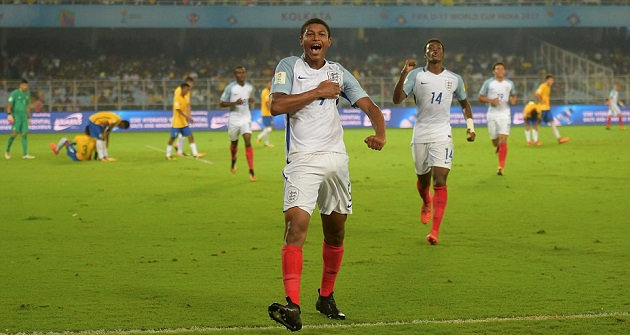 Klopp: There's expectations but no pressure for Rhian Brewster - Bóng Đá