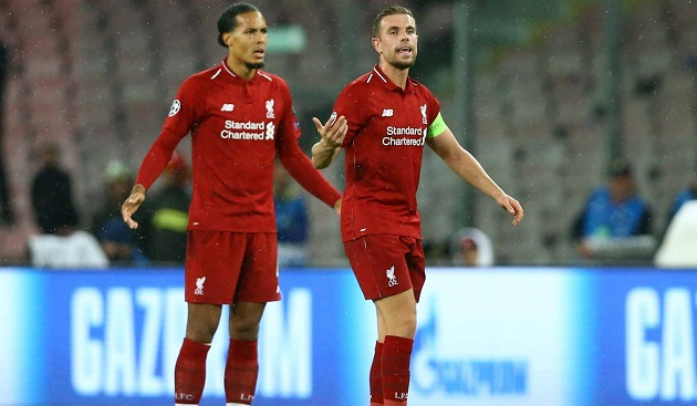 Virgil van Dijk has admitted Jordan Henderson was a crucial factor in his decision to join Liverpool - Bóng Đá