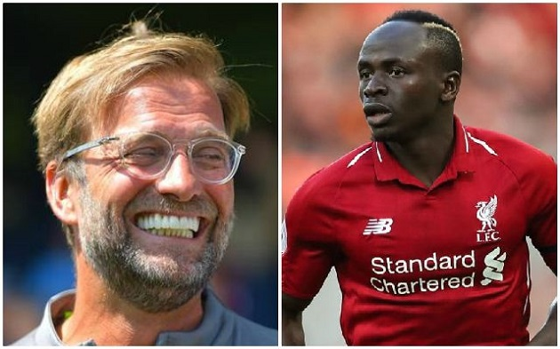 Klopp on whether Sadio Mane will be considered for Norwich - Bóng Đá