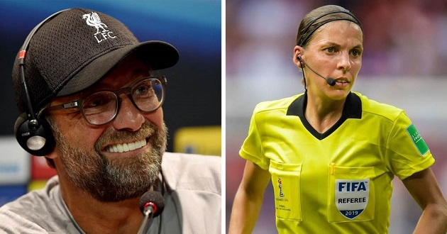 Klopp hopes the first woman to referee UEFA match won't be the last one - Bóng Đá