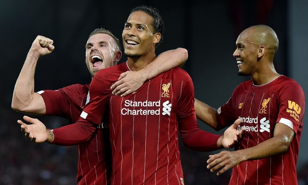 Sky Sports pundit: 'Van Dijk is going to go on and lead Liverpool for a long time' - Bóng Đá