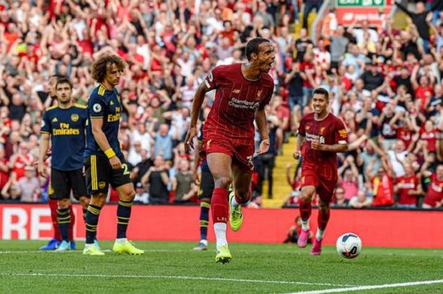 Joel Matip on Arsenal goal: 'I hope it's just the beginning' - Bóng Đá
