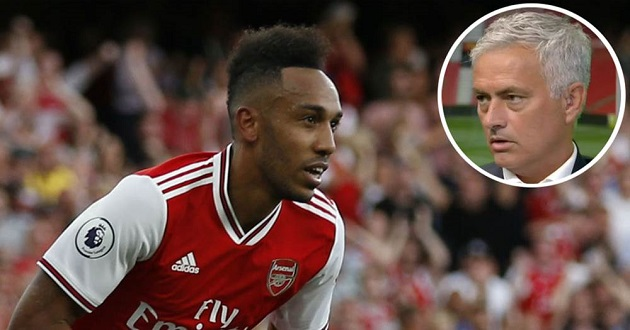 Jose Mourinho: 'I could see Aubameyang playing on the left-side for Liverpool and scoring a lot of goals' - Bóng Đá