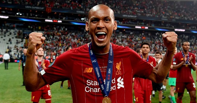 Fabinho relishes being Reds defensive midfielder: 'I've always liked to play in this position' - Bóng Đá