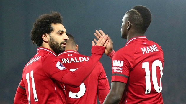 Aldridge expects Klopp to have a private talk with Salah and Mane ahead of Newcastle game - Bóng Đá