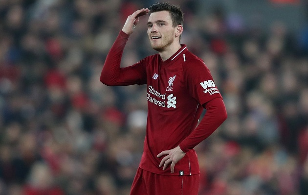 'It's a massive thing for me' – Andy Robertson on FIFPro Men's World11 nomination - Bóng Đá