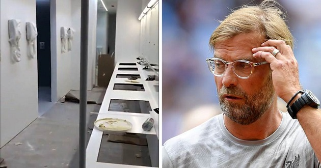 Klopp ready to accept horrible changing room conditions at Napoli's Stadio San Paolo - Bóng Đá