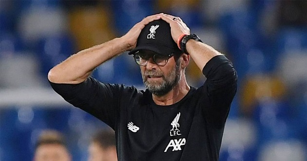 Klopp feels Liverpool deserved at least a point at Naples - Bóng Đá