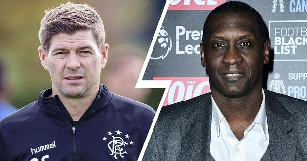 Gerrard responds to former teammate Heskey claims about him getting managerial job thanks to skin colour - Bóng Đá