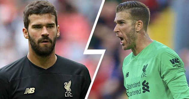 Alisson: 'Special' Adrian gives me peace to recover properly - Bóng Đá