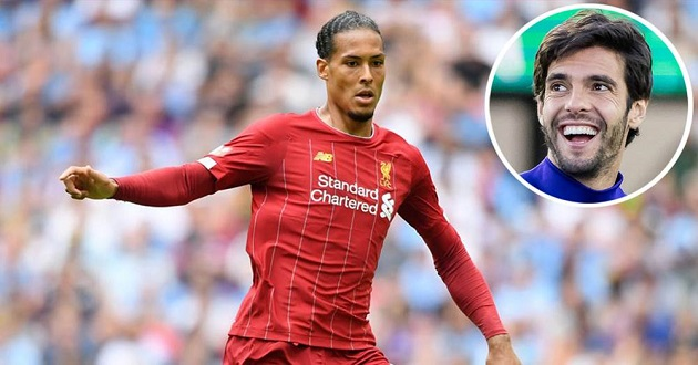 Brazil legend Kaka backs Van Dijk for Ballon d'Or - Bóng Đá