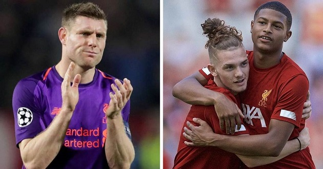 Milner gives his verdict on 3 young Liverpool players - Bóng Đá