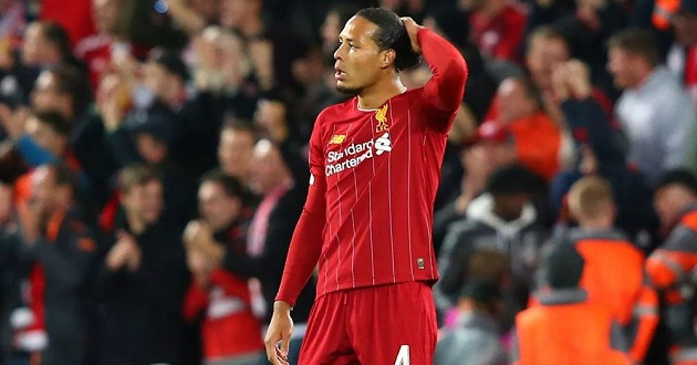 'There's no reason for panic at all': Van Dijk reflects on Reds' poor defensive display amid some gloomy stats - Bóng Đá