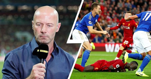 Shearer accuses Mane of going down too easy in Leicester game: 'I don't think it's a penalty, I think it's a dive' - Bóng Đá