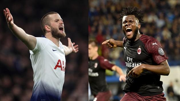 AC Milan have got their eye on three Spurs players - Bóng Đá