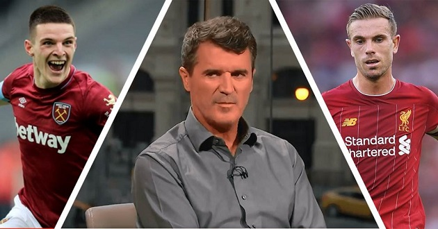 Keane: 'Henderson and Rice – they might as well sit with us in the studio' - Bóng Đá