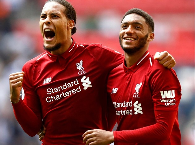'He's unbelievable': Joe Gomez opens up on 'natural vibe' he has with van Dijk - Bóng Đá