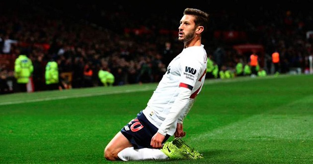 'Huge positives to take': Happy goalscorer Lallana gives his take on United stalemate - Bóng Đá