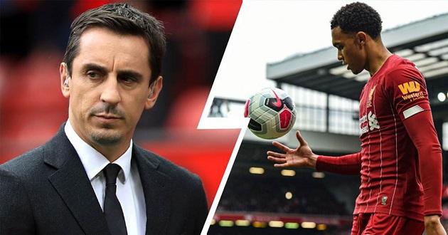 Gary Neville explains why he doesn't consider Trent world-class full-back - Bóng Đá