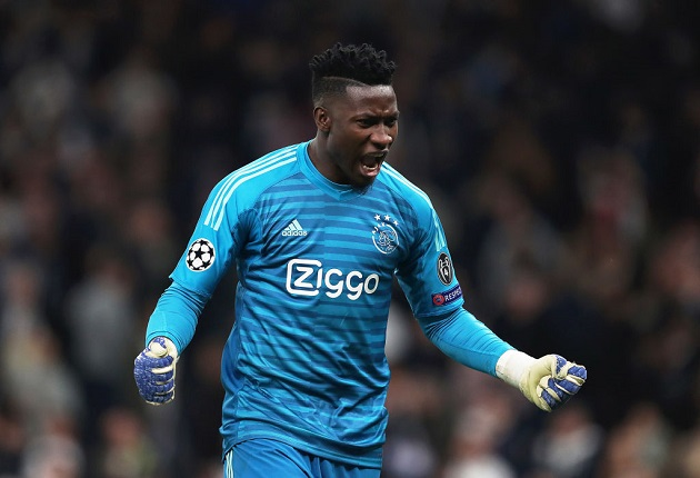 Spurs are targeting Ajax goalkeeper Andre Onana - Bóng Đá