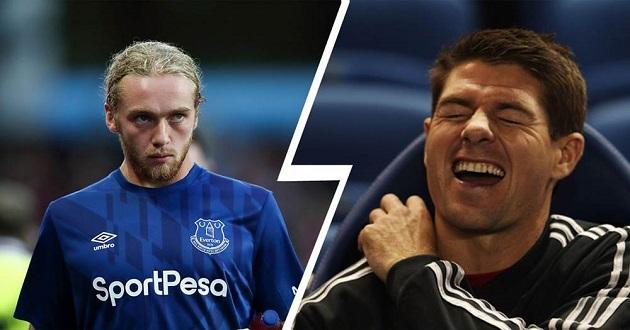 Everton midfielder Davies aims at becoming new Gerrard - Bóng Đá