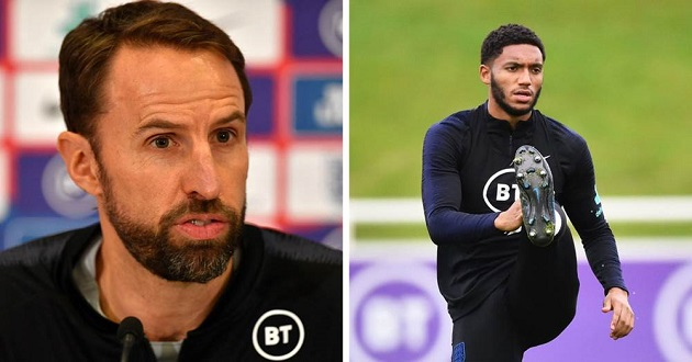 'You couldn't make it up really if you tried': Southgate reacts to Gomez's injury after booing incident - Bóng Đá