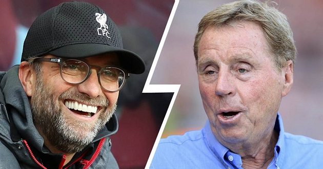 'I can't see any other outcome': Harry Redknapp backs Liverpool to win the title - Bóng Đá