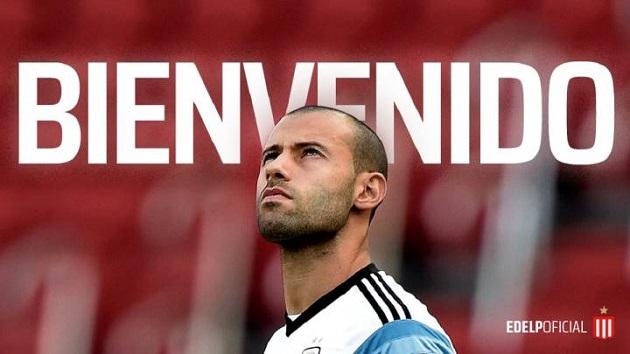 Ex-Red Mascherano joins Argetinan club Estudiantes - Bóng Đá