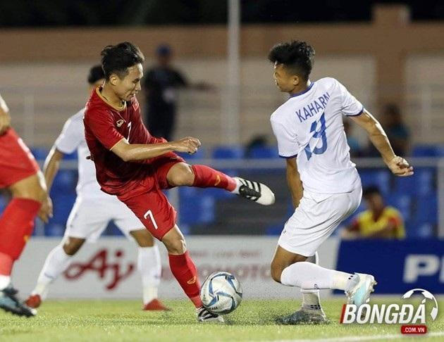 Nhiều ý kiến thắc mắc liệu Việt Nam có nên dồn hết sức lực cho giải đấu ''ao làng'' như bộ môn bóng đá nam tại SEA Games 30 hay không? (Ảnh: Hiển Vinh)