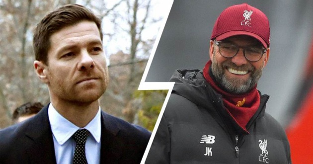 Xabi Alonso: Klopp would win Ballon d'Or for coaching if there were one - Bóng Đá