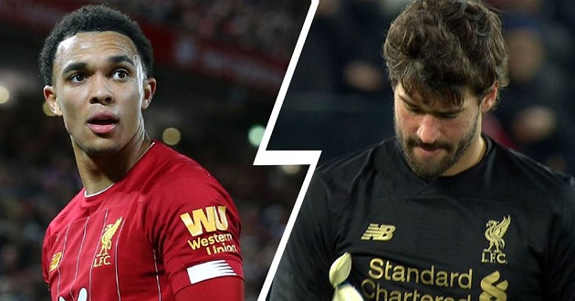 'It's not too much of a blow': Trent reacts to Alisson missing out on Everton clash - Bóng Đá