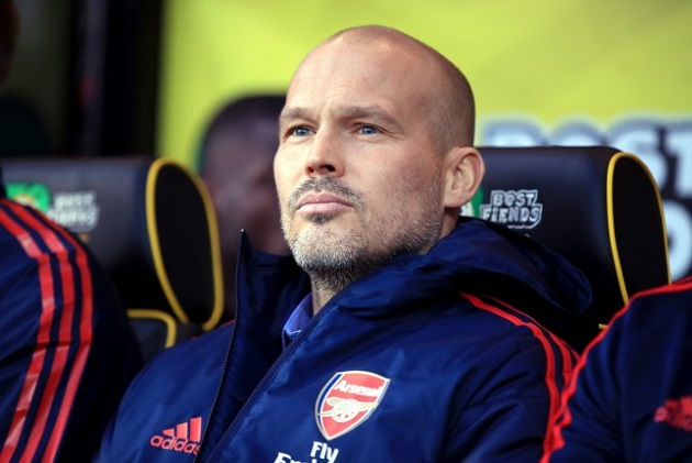 Report: West Ham monitoring Arsenal interim manager Freddie Ljungberg - Bóng Đá