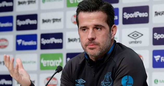 Everton boss Silva: 'All the players in the world have to enjoy Merseyside derbies' - Bóng Đá