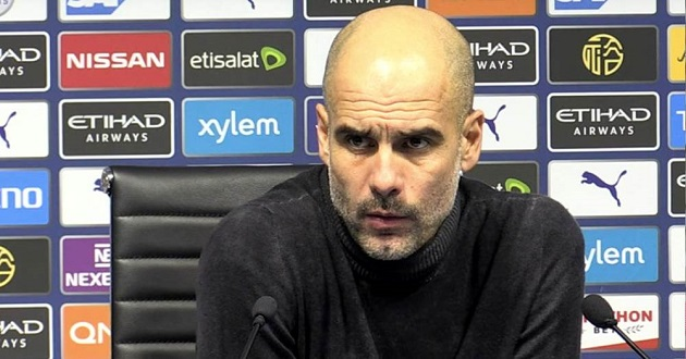 Guardiola admits title challenge 'unrealistic' for City after loss to United - Bóng Đá