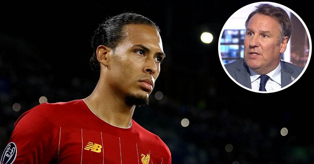 Merson: 'Virgil van Dijk not winning the Ballon d'Or is a joke' - Bóng Đá