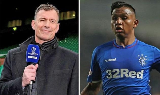 Chris Sutton says Rangers striker Alfredo Morelos is the best striker in the Scottish Premiership - Bóng Đá