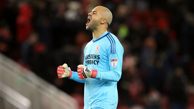 Report: West Ham and Middlesbrough are £2 million apart on valuations of Darren Randolph - Bóng Đá