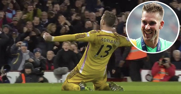 'I have a great memory against them': Adrian recalls scoring winning penalty vs Everton in FA Cup - Bóng Đá