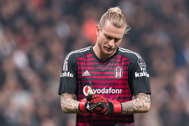 Loris Karius' career continues to sink as he makes another horrendous blunder for Besiktas - Bóng Đá