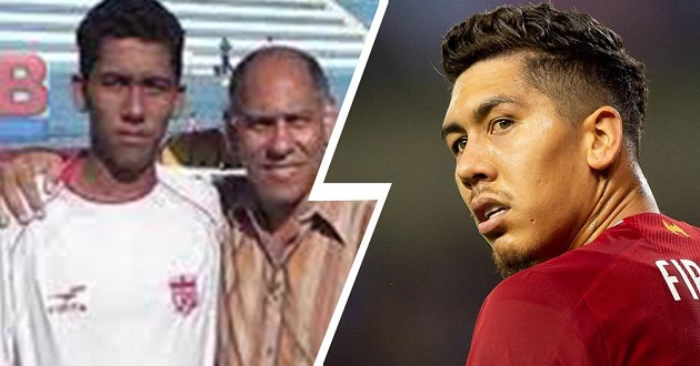 'A very humble boy but very talented': Firmino's first coach recalls - Bóng Đá