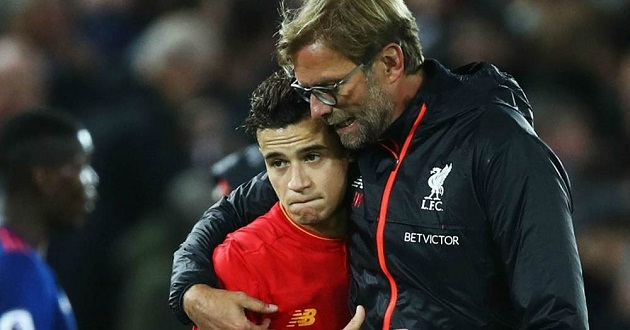 Klopp's brilliant Coutinho prophecy continues to haunt the Brazillian - Bóng Đá
