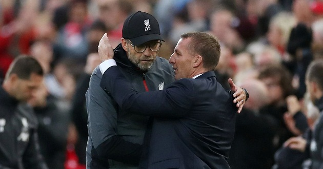 Brendan Rodgers defends Klopp amid row with FA over cup replay - Bóng Đá