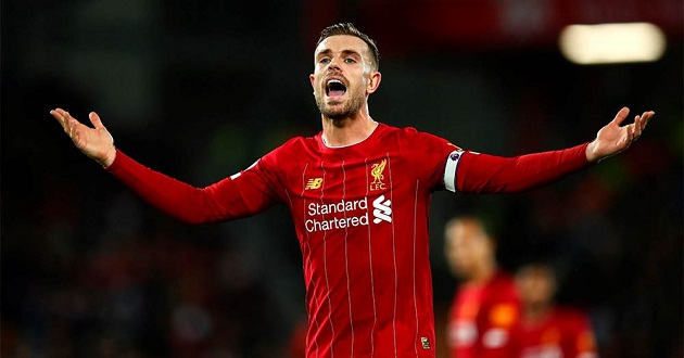 Henderson reveals how having 22 point lead affects the dressing room - Bóng Đá