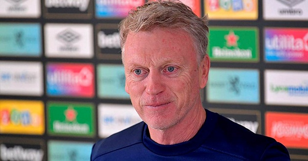 West Ham boss Moyes shares expectations ahead of Anfield trip: 'We've got options' - Bóng Đá