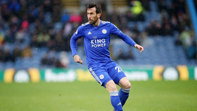 Leicester City contract talks for Christian Fuchs as Brendan Rodgers seeks to delay New York move - Bóng Đá