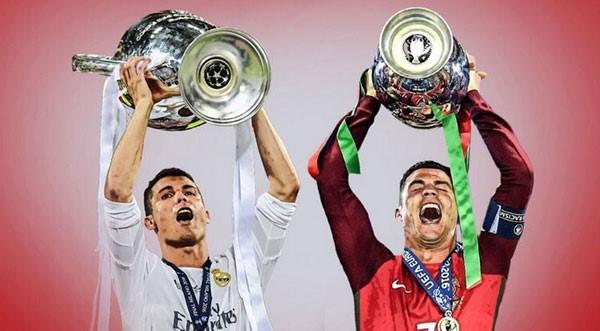 Ronaldo: 'Năm 2016 hay nhất trong sự nghiệp của tôi'