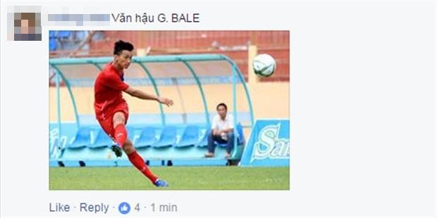 Đá như 'lên đồng', Văn Hậu được ví như Gareth Bale - Bóng Đá