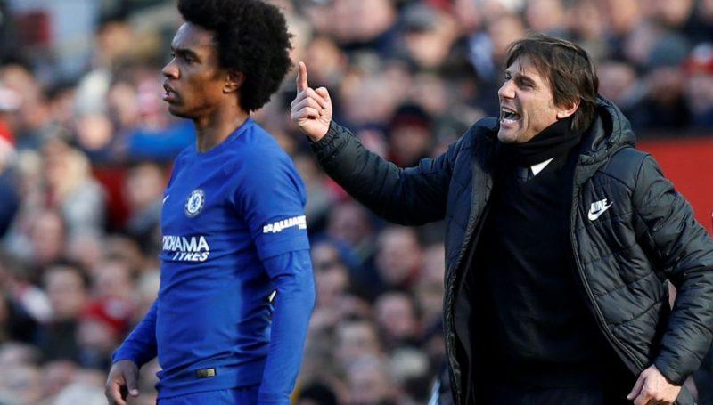 Chelsea sa thải Conte, M.U hết cửa chiêu mộ Willian - Bóng Đá