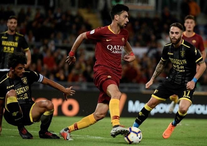 Serie A đêm qua: AS Roma dạo chơi và Benevento Calcio thứ hai xuất hiện - Bóng Đá