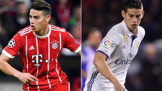 Đại chiến Bayern – Real: Đi tìm phiên bản hoàn hảo nhất của James Rodriguez - Bóng Đá